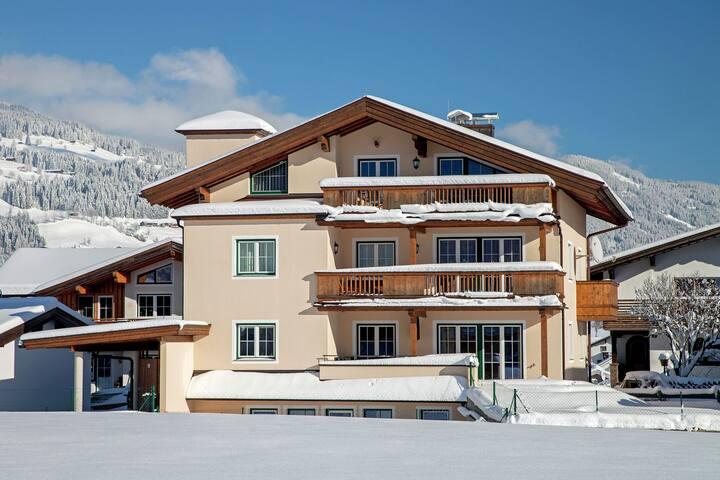 Quaint Apartment near Skiing Area in Westendorf