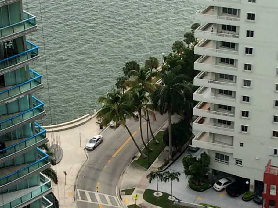 Unit view of Biscayne Bay