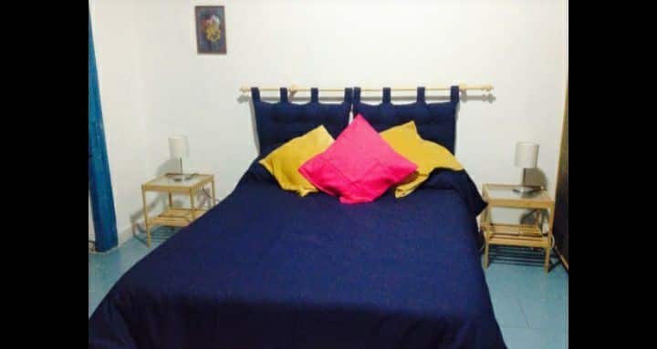 Camera matrimoniale in appartamento con terrazza