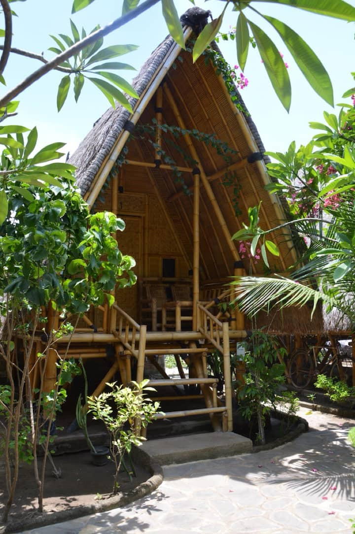Bale Kampung-Bamboo  1