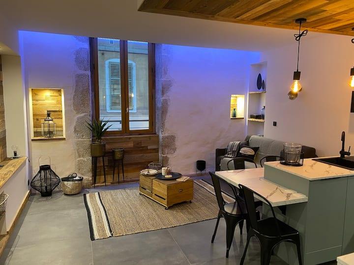 """""""L'atelier"""" : charmant loft en centre ville"""