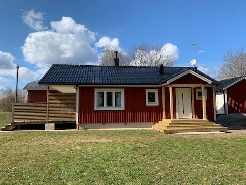 Frisse hut in Köpingsvik