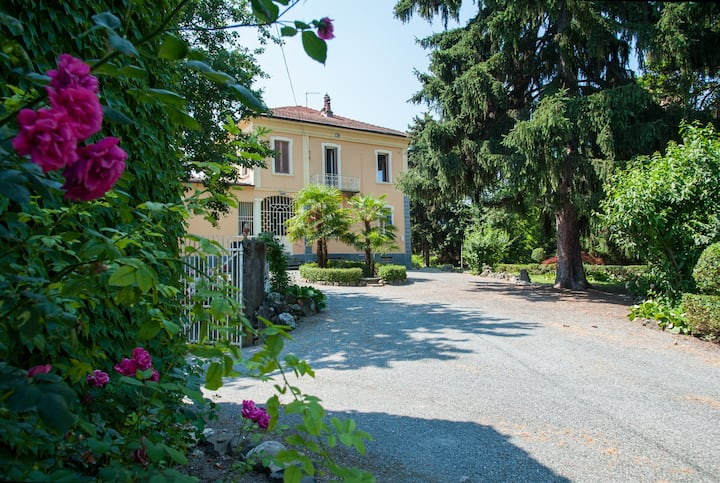 Casa Saracco: dimora liberty nel verde