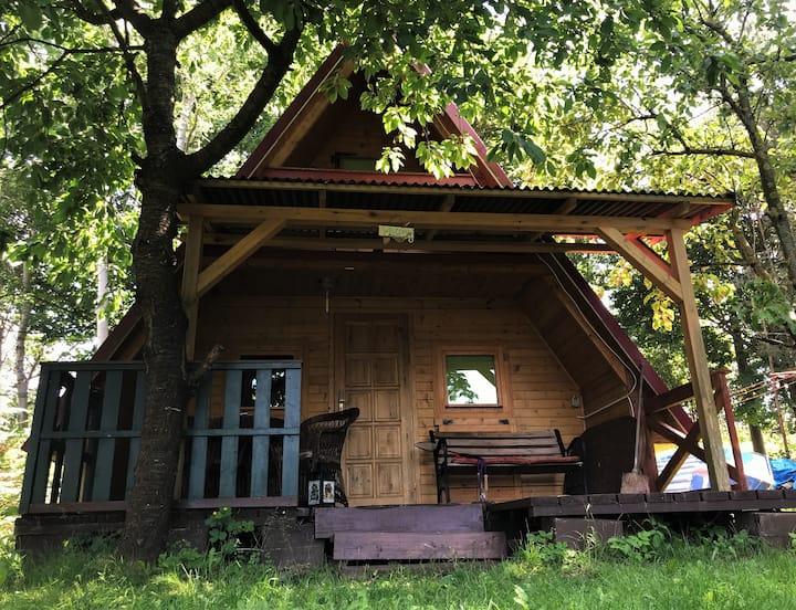 gemütliches Haus im Grünen  Seenähe bei Gizycko
