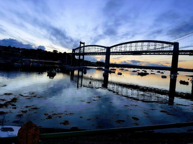 Brunel Boathouse on the picturesque River Tamar