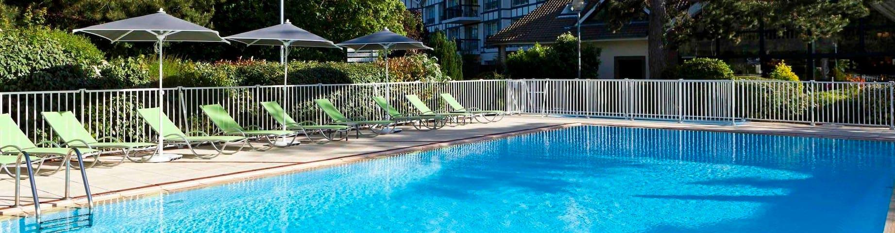 Appartement Duplex, parc avec tennis, piscine - Neufchâtel-Hardelot - Departamento