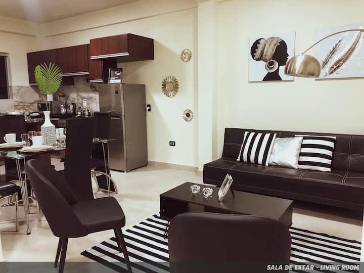 Hermoso Apartamento en el Centro de la Ciudad...