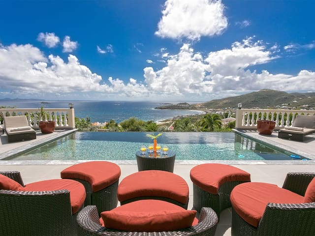 Anegada - Fabulous villa with ocean views on the Dutch Side