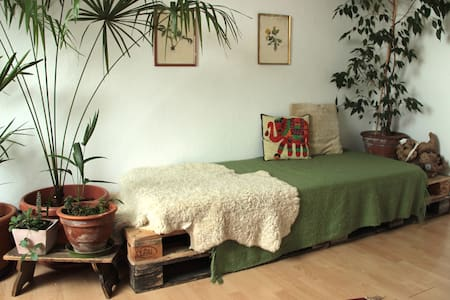 Sunny room with a private bathroom - Apartamento
