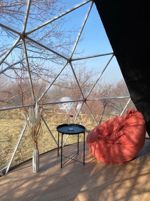 BubbleGumView Dome Glamping