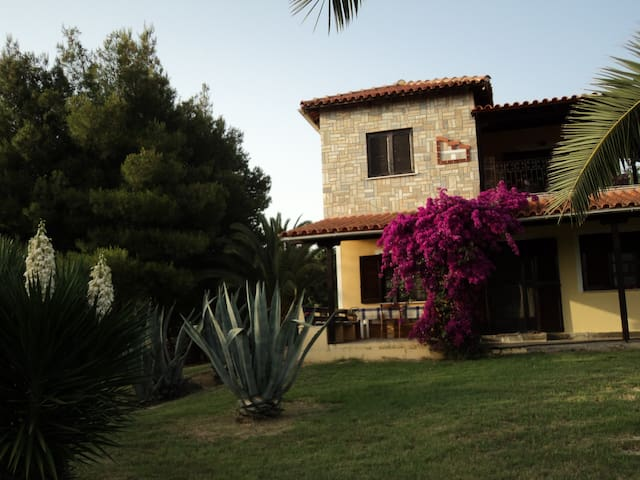 Villa Anastasia Chalkidiki close to sea big yard