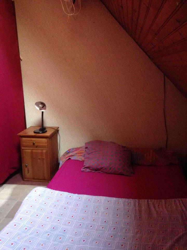 Private room . Chambre privée