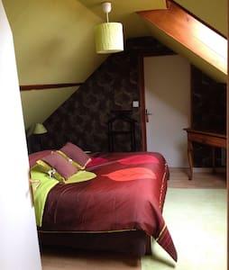 Chambre confortable dans maison - Fresné-la-Mère