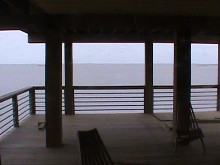 bay view off 1st floor deck
