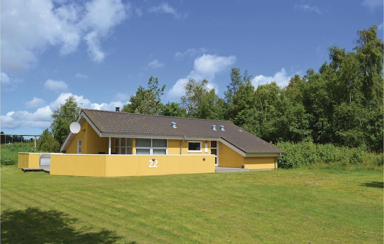 Holiday cottage with 4 bedrooms on 96m² in Jerup