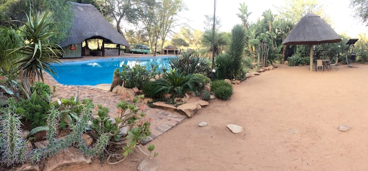 Limpopo River Luxury Cottage, Tuli Block, Botswana