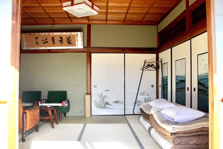 Japanese style guesthouse Toranjyo lit 1 :)