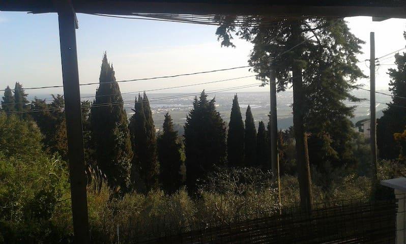 Apartment Hügel mit Blick auf Küste - Corsanico - Huoneisto