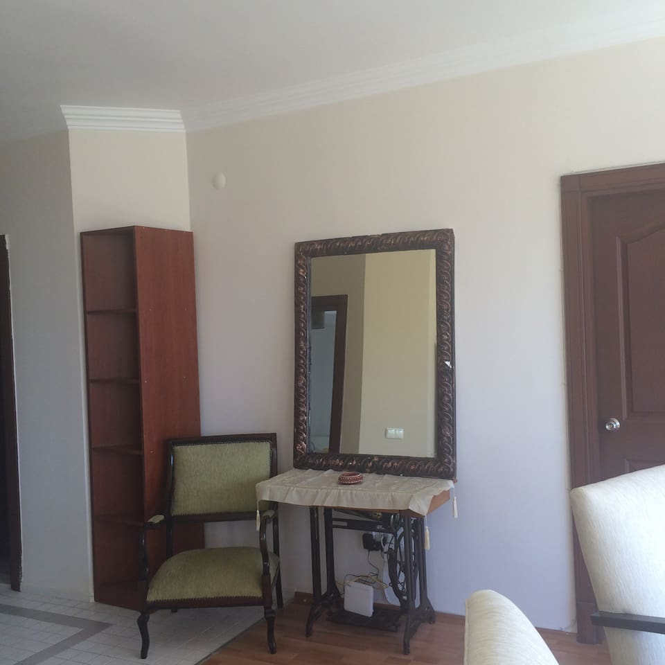 flat with pool in Antalya town