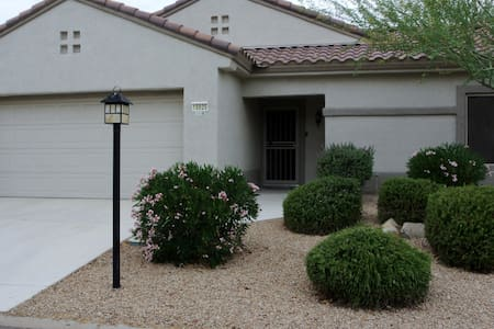 2 bedroom home in Golf community - Surprise