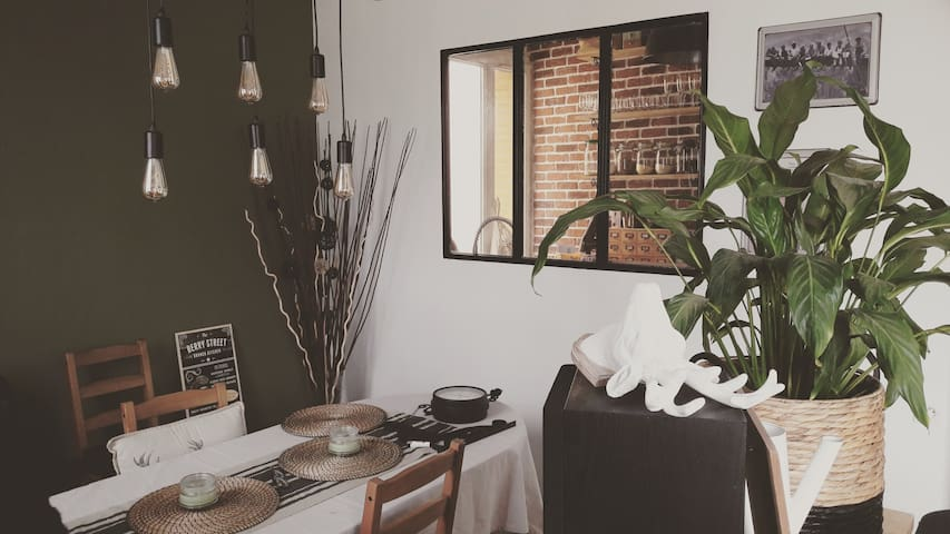 Appart cocooning scandinave @chez_youki