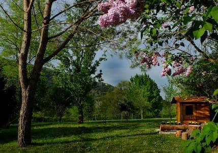 Patufet, gran jardín ideal niños - Sant Joan les Fonts - Casa