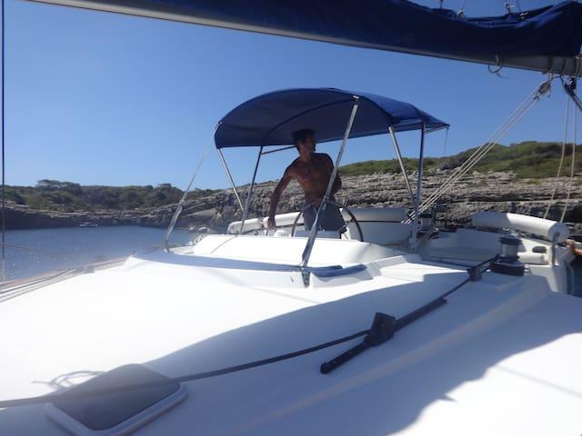 Cabine double dans un catamaran - Eivissa - Barco