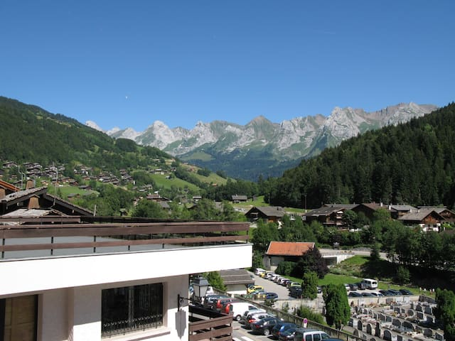 Studio Grand Bornand centre-village - Le Grand-Bornand - Lägenhet