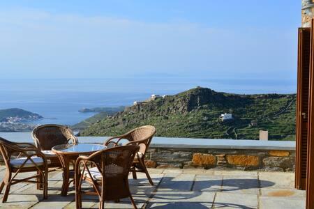 See Kea Sea view Villa private pool - Kéa - วิลล่า