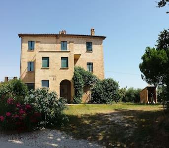 A casa di NONNA PINA - Castignano - Huis