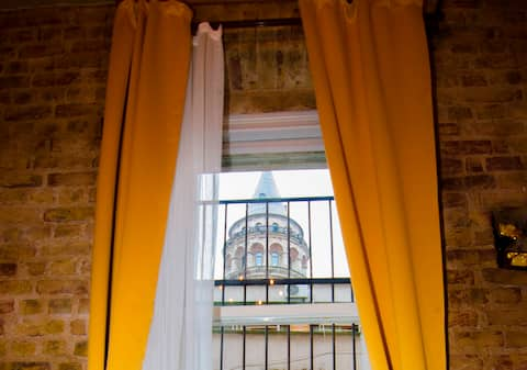 ★Right In Front of GALATA TOWER★Exceptional Design