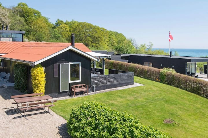 Traditional Holiday Home in Jutland with a Seaview