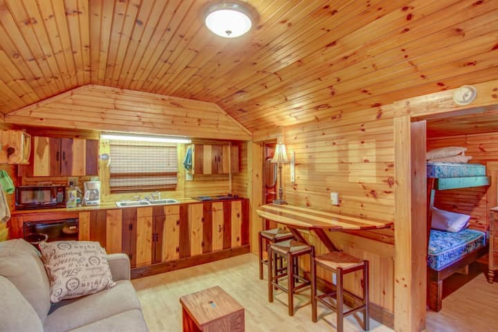 Creek Front Cabin