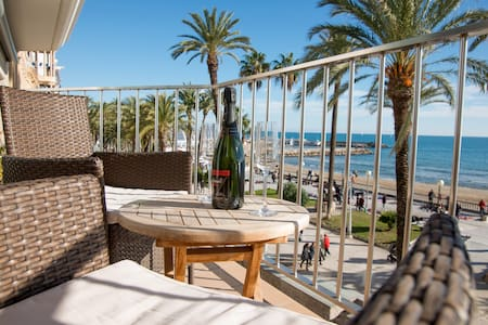 Beautiful seafront views - Sitges - Apartamento