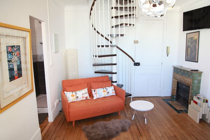 Great apartment close to the Convention Center - Vanves - Apartment