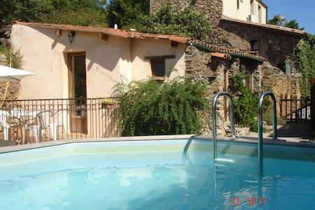 Gîte rural jardin et piscine privée - Caixas