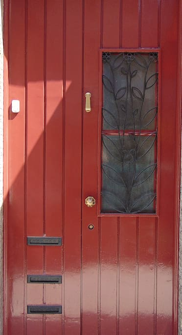 Street door.