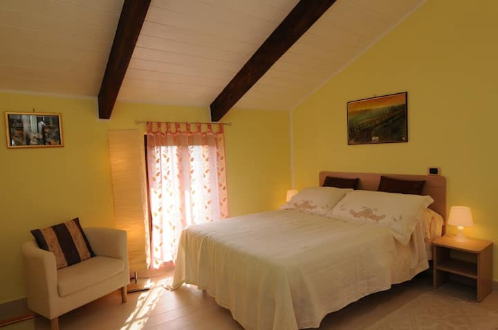 La Valle Vigne Room in Monferrato