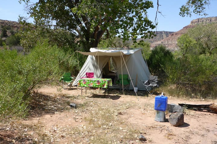 Zion Camping Rental- Tent camping equipment for 4