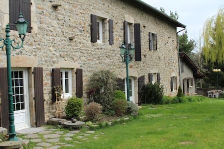 Agréable maisonnette champêtre - Saint-Pierre-du-Champ - Huis