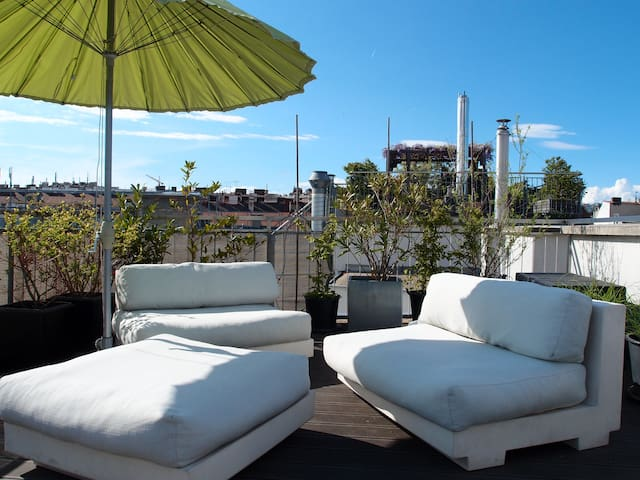 New Central Roof-Top Apartment - Wien - Apartment