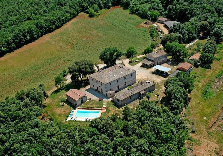 In the heart of Tuscany!Agriturismo ''TreMadonne''
