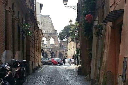 L'Edera al Colosseo - Rome Coliseum - Řím - Byt