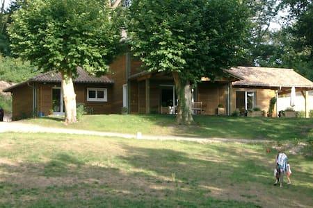 Charmante maison en bois - Onesse-Laharie - Dům
