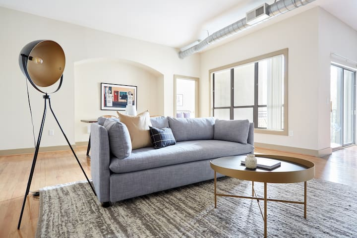 Sonder | Lofts at the Ballpark | Airy 2BR + Pool