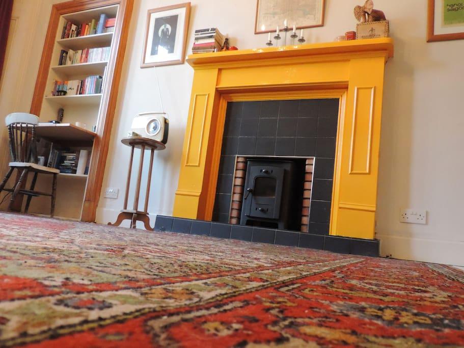 Vintage carpet made in Glasgow
