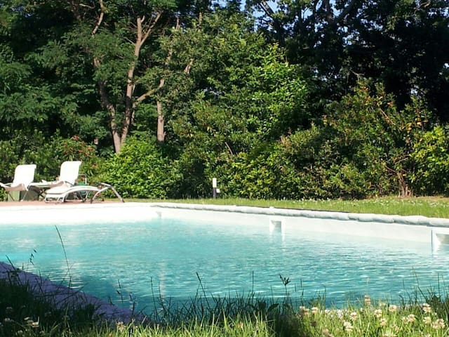 Private home sea view with pool & garden - Roncofreddo Cesena - Haus