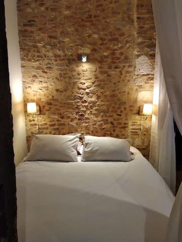 Alcôve nuit (lit queen-size / 160 cm)