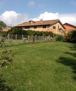 Cottage on the farm - Maccarese Fiumicino - Huis