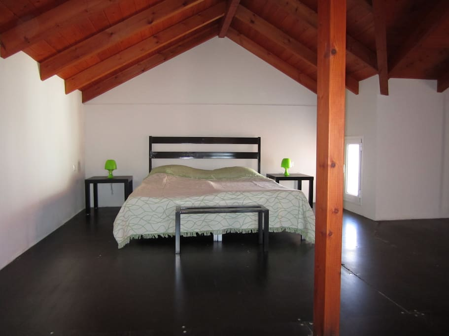 Bedroom at the attic.